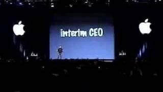 Macworld San Francisco 2000-Steve Jobs Becomes iCEO of Apple