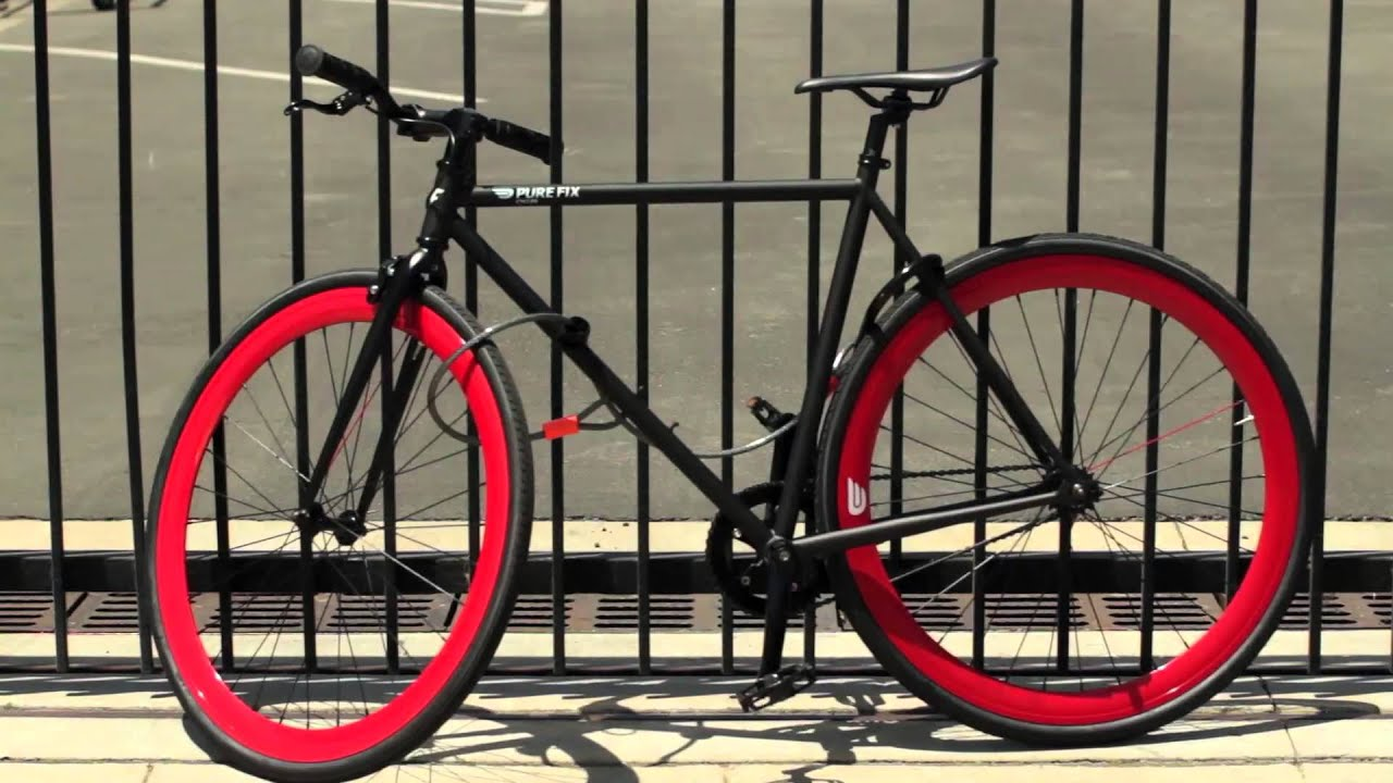 how to lock your bike the right way youtube. Black Bedroom Furniture Sets. Home Design Ideas