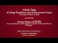 CRAG Talks - Annie Mason: Uncovering Racism and Racialization