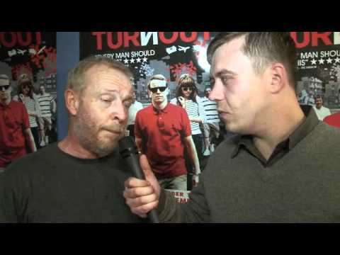 Eddie Webber Interview for iFILM LONDON / TURNOUT - WORLD PREMIERE
