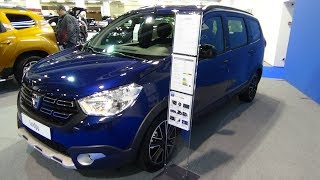 2019 Dacia Lodgy Unlimited 2 SCe 100 - Exterior and Interior - Auto Zürich Car Show 2018