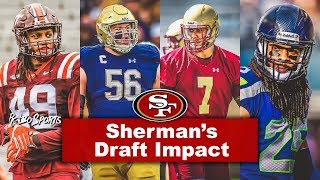 Live! Richard Sherman Will Affect 49ers Draft | Edmonds, Nelson, Landry All Possible