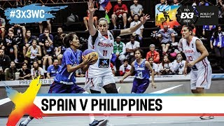 Spain v Philippines | Women's Full Game | FIBA 3x3 World Cup 2018