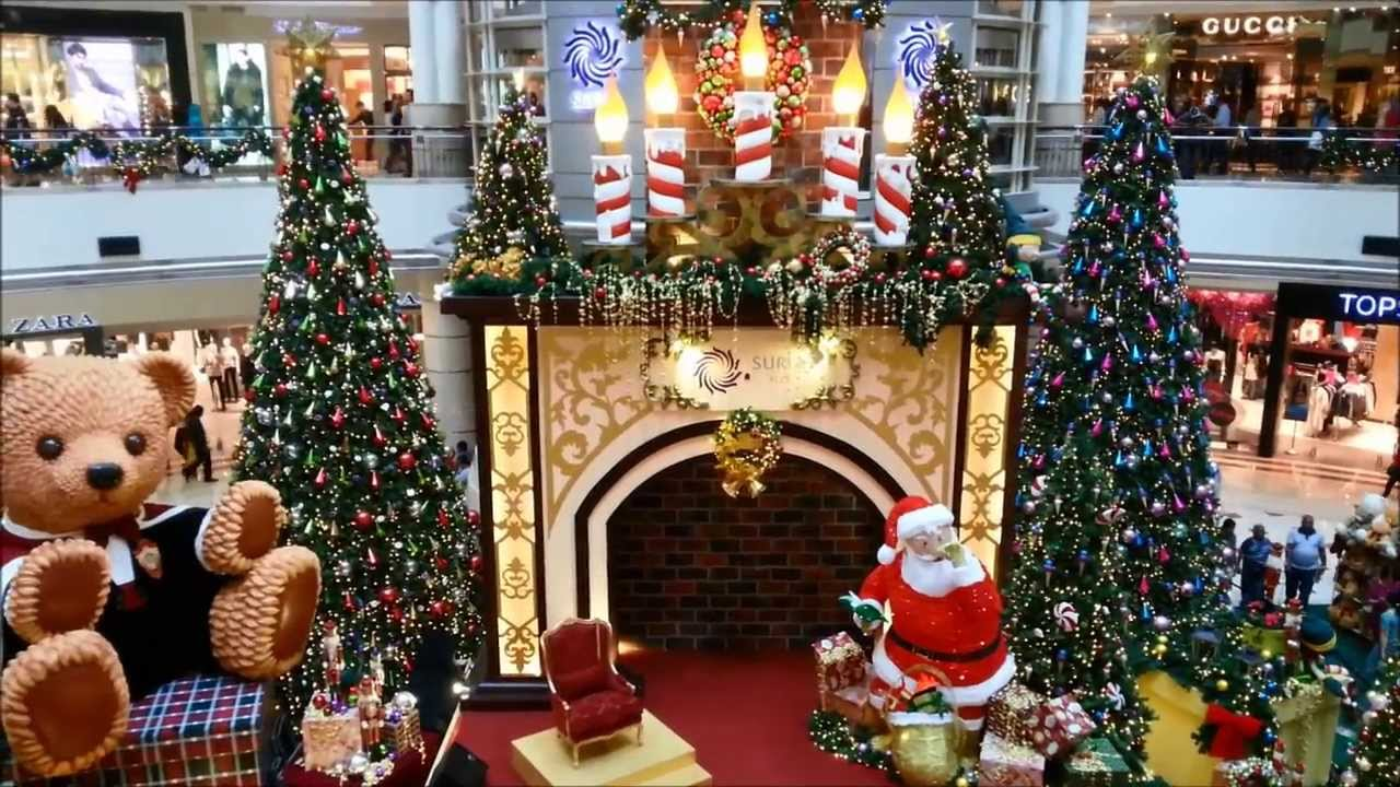 celebrate christmas at kuala lumpur city centre klcc malaysia 14 december 2013 youtube
