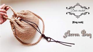 [ENG/KOR Sub]도토리 가방뜨기 (Crochet…