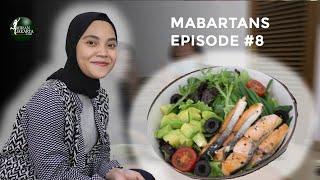 Mencoba Salad Salmon bersama Tasty Green - Mabartans Episode #8