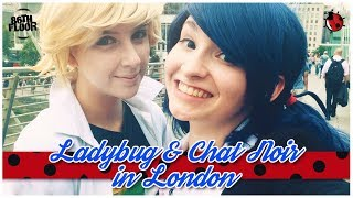 Cover images Miraculous Ladybug and Chat Noir in London Cosplay Music Video - Reupload