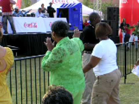 Cousin Gail...GROOVIN' in the ATL in 07'