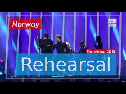 Alexander Rybak - That † s How You Write A Song - Eurovision 2018 Norway (Rehearsal)