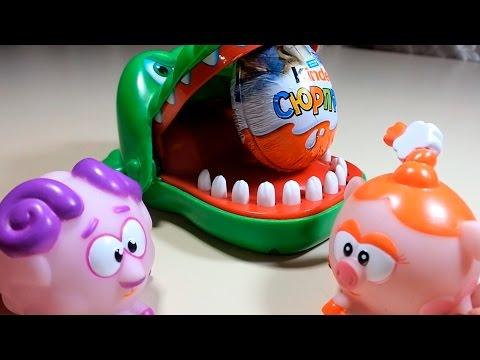Видео, Смешарики мультфильм Киндер Ледниковый период Столкновение неизбежно Smeshariki cartoon toys Ice Age