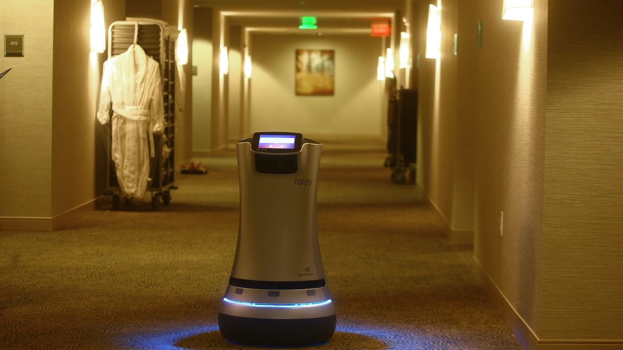 Robot Butler Welcomed At The Westin