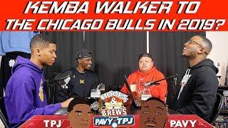 Kemba Walker to the Chicago Bulls in 2019? | Hoops N Brews