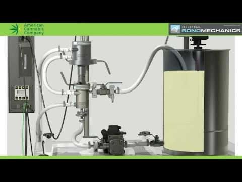 Ultrasonic Liquid Processing for Cannabis Extraction and Emulsification