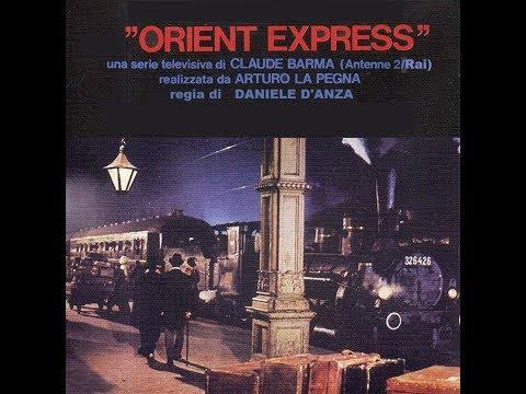"""SERIE RAI TV 1979     """"ORIENT-EXPRESS""""  di Daniele D'Anza    6 Episodii"""