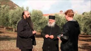 Игумен монастыря Эсфигмен о. Мефодий о положении афонской обители