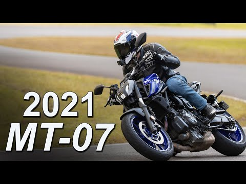 2021 Yamaha MT-07 Review | Re-styled & Still Formidable
