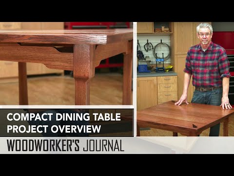 Compact Dining Room Table - Project Overview