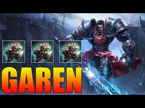 how to build garen with thunderlords