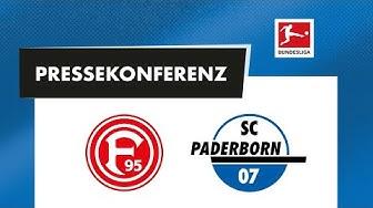 Pressekonferenz vor dem Spiel bei Fortuna Düsseldorf