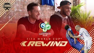 FRANCE vs ITALY WORLD CUP 2006 FINAL REACTION W SPENCER FC!!!  FIFA REWIND