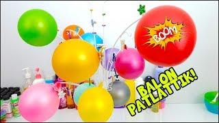 Balon Patlattık! Slime Ağacı ile Eğlenceli Slime Challenge - Vak Vak TV