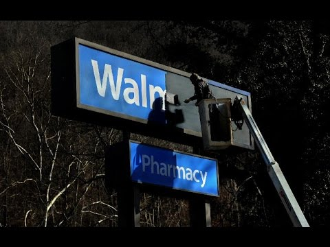 When Wal-Mart leaves
