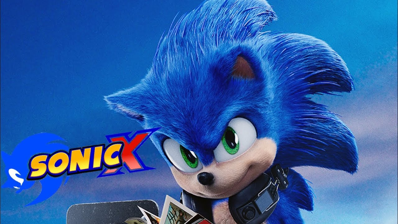 Sonic The Hedgehog Movie 2020 Sonic X Style Youtube