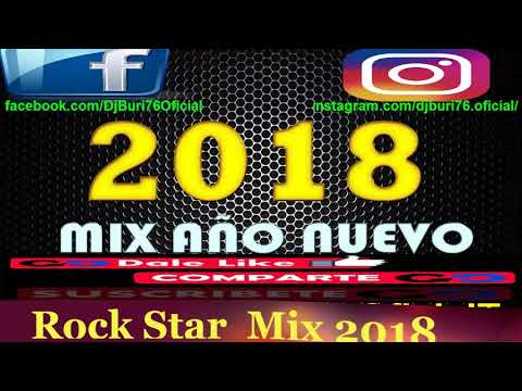 🎄►CHICHA MIX (Rock Star)♡๑۩ﺴ Bailables de Fin de Año ♡๑۩ﺴ(año Nuevo)♡๑۩ﺴDvjBuri76 OficialTv