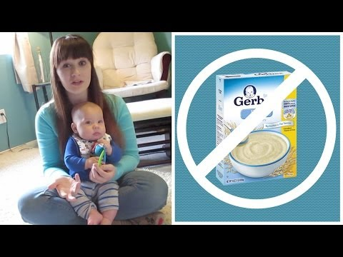 Why I'll Never Feed My Baby Rice Cereal