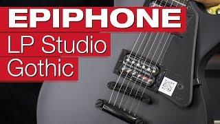 Epiphone Les Paul Studio Gothic PB E-Gitarren-Review