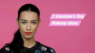 HOW TO | 3 Valentine's Day Makeup Looks | Superdrug