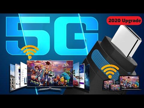 ปี 2020 ต่อมือถือเข้าทีวี ไร้สาย Wifi 5G ที่ดีที่สุด