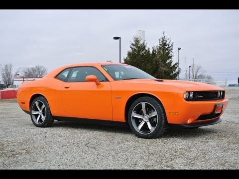 2014 dodge challenger r t orange for sale dealer dayton troy piqua sidney ohio 26981 youtube. Black Bedroom Furniture Sets. Home Design Ideas