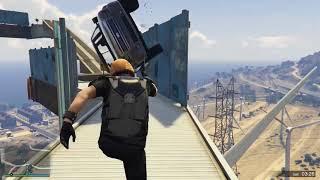 VanossGaming GTA5 Online Funny Moments   Impossible Windmill Death Run!