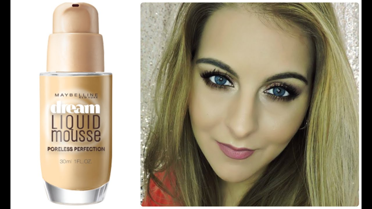 AIRBRUSHED SKIN in a Bottle! MAYBELLINE Dream Liquid ...