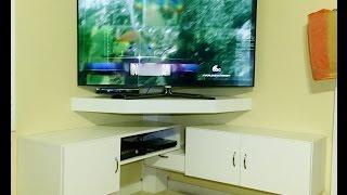 DIY - CORNER TV STAND