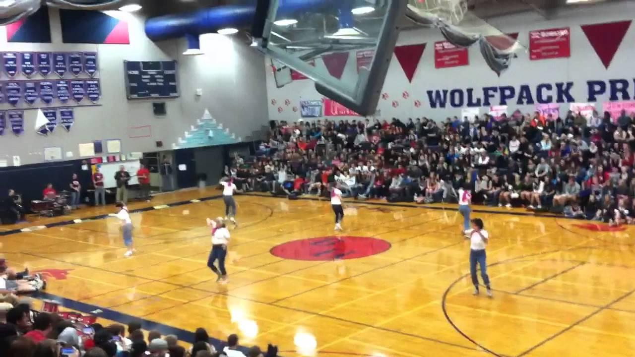 Black Hills High School Staff Dance Team 2013