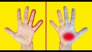 9 Problèmes de santé que nos mains nous indiquent