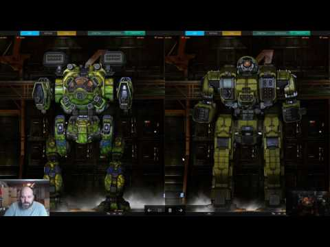MechWarrior Online: Civil War Mech Scale's (and some Smoked Meat)