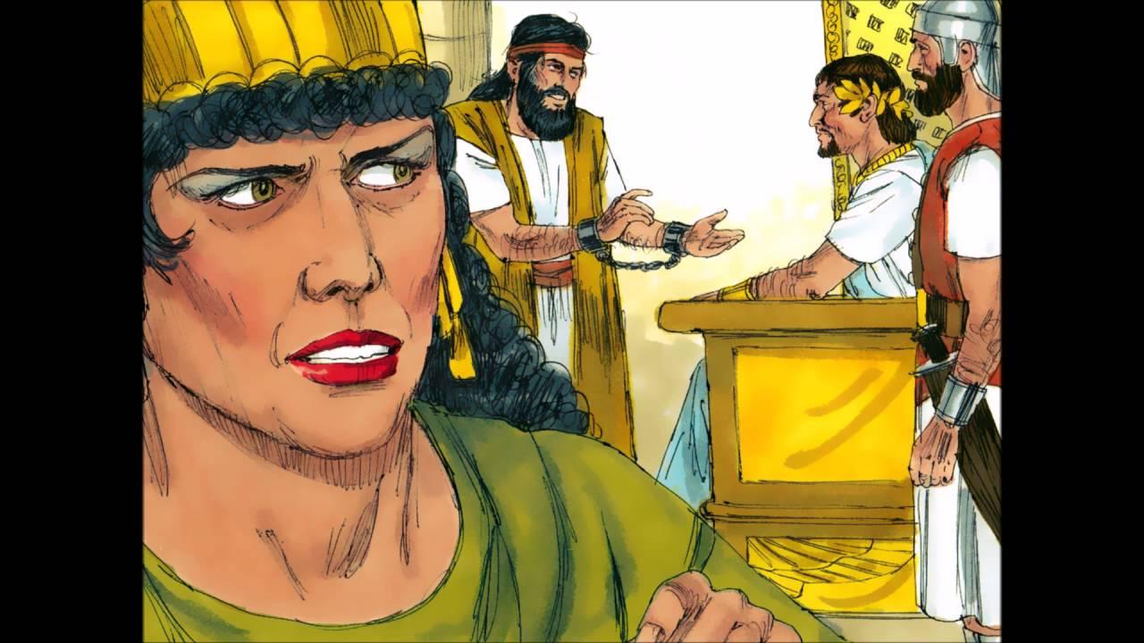 john the baptist beheaded head on a plate by herodias and herod