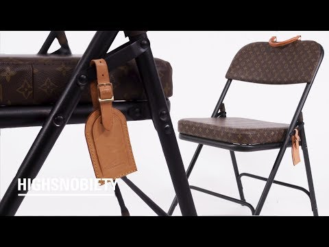 This NY Designer Is Turning Louis Vuitton Bags Into Practical Furniture