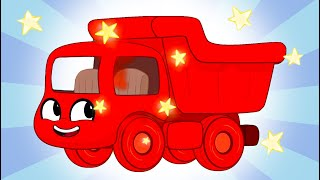 My Big Red Truck   Fun Animal Cartoons   Kids Videos   Learning for Kids