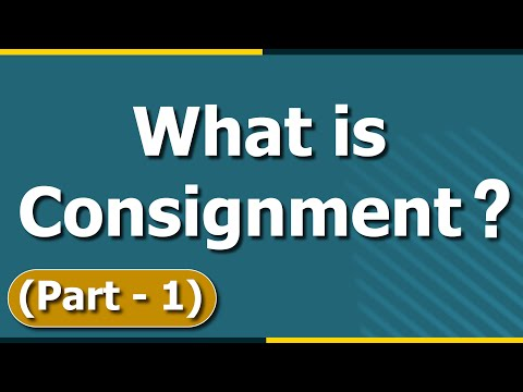 Consignee in Accounting