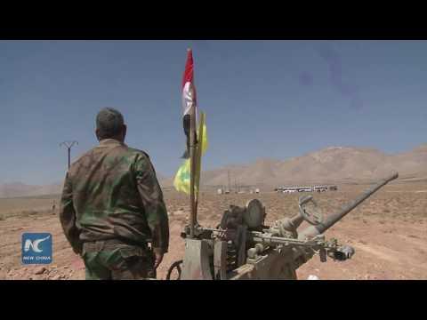 On spot:ISIS prepare to  retreat from Syria-Lebanon border zone