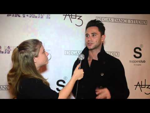 Sasha Farber from Dancing with the Stars Interview at 8th Annual Art ...