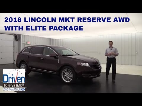 2018 LINCOLN MKT RESERVE AWD WITH ELITE PACKAGE 18078T