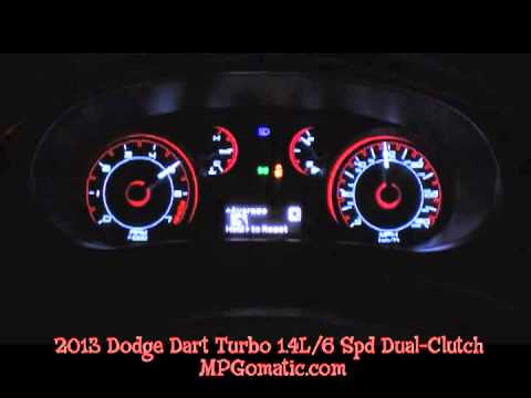 2013 dodge dart rallye 1 4l turbo 0 60 mph youtube. Black Bedroom Furniture Sets. Home Design Ideas