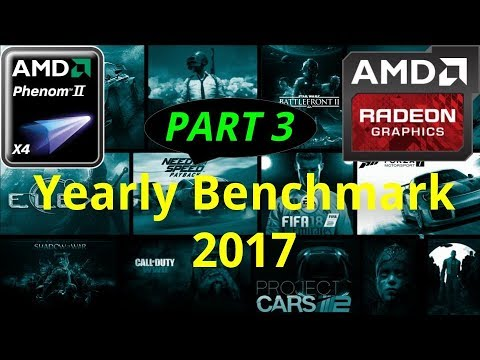 *PART 3* (HD 7850/R7 265/R7 370 | Phenom II X4) Gaming | 15 Games Tests of 2017 in 25/30 Minutes