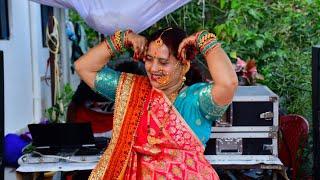 Pyaari bahurani mere ghar aayi | Mahila Sangeet Dance | Beautiful Pahadi Saas Dance | Bahu swagat