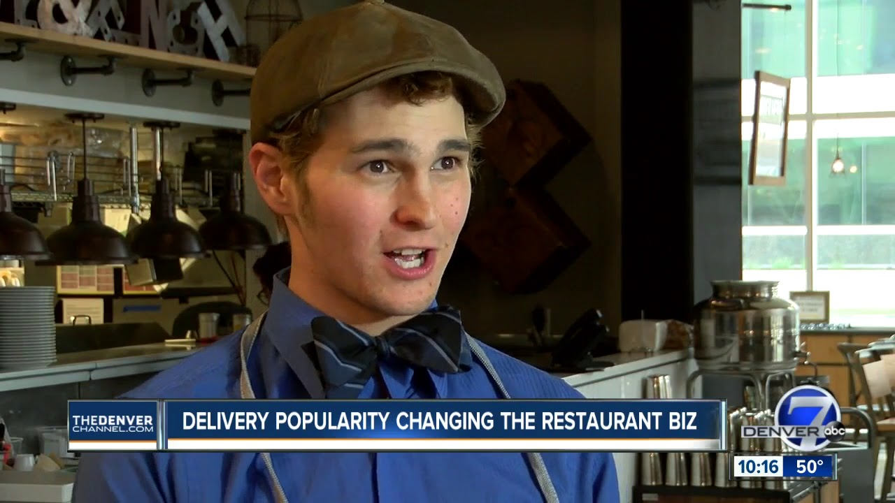 Delivery Boom Is Forcing Denver Restaurants To Adapt How They Do Business
